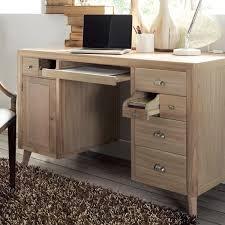 bureau avec tablette coulissante bureau avec tablette coulissante en mindi massif baltic thoigian info
