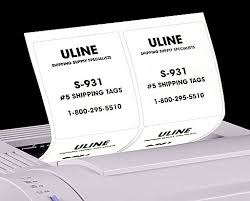 labels shipping labels mailing labels in stock uline
