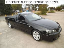 ford falcon ute ba xr6