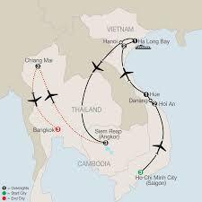 Bangkok Map Map Exploring Vietnam U0026 Cambodia With Chiang Mai U0026 Bangkok 2017