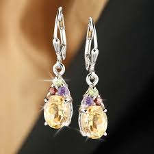 citrine earrings verdi citrine earrings timepieces international