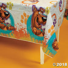 scooby doo wrapping paper here comes scooby doo tablecloth discontinued
