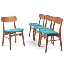 teak dining chairs from farstrup møbler 1960s set of 4 for sale