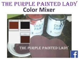 the purple painted lady paint mixer the purple painted lady