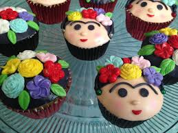 frida kahlo cupcakes pasteles familiares pinterest