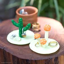 modern cactus ring holder images Make this incredibly cute diy clay cactus ring holder jpg