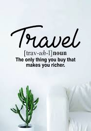 travel definition images Travel definition quote wall decal sticker bedroom living room art jpg