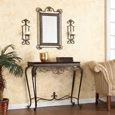 Mirror Sofa Table by Sofa Console Furniture Table End Side Living Room Hall Entry