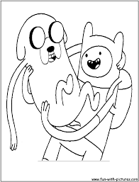 adventure time coloring pages free printable colouring pages for