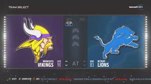lions thanksgiving day game vikings vs lions thanksgiving spotlight madden 17 youtube