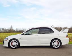 mitsubishi white used 2017 mitsubishi evo vii ix for sale in buckinghamshire