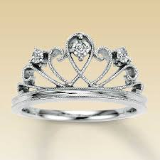 crown engagement rings images Kay sterling silver diamond crown ring jpg