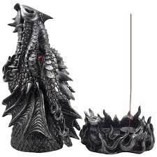 amazon com mythical fire breathing dragon incense holder u0026 burner