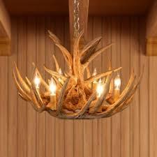 Deer Antler Light Fixtures Antler Chandeliers Rustic Ceiling Lights Fixtures Cabin Place