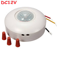 Ceiling Mounted Motion Sensor Light Switch Freeshipping Newest 12vdc Pir Light Sensor Switch Motion Sensor
