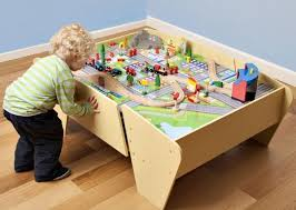 train and track table plum train track activity table swing and play