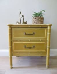 Henry Link Bedroom Furniture by On Sale Vintage Henry Link Dresser With Two Mirrors Bali Hai