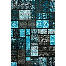 Turquoise Area Rug Amazon Com Turquoise 5 U00272x7 U00272 Area Rug Modern Carpet Large New