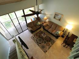 tranquil and breezy kuilima east 2 bdrm 2 vrbo view from second loft style bedroom with over size 1 2 bath