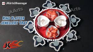 wedding platter diy how to decorate ring platter wedding tray jk arts 537