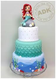 mermaid cake ideas 299 best disney s mermaid cakes images on