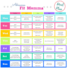 thanksgiving meal plans adrianna fit momma november 2016