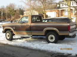 Classic Ford Diesel Truck - ford 1984 diesel truck f250