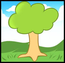 how to draw how to draw a tree for kids hellokids com