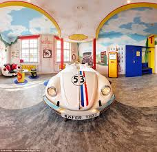 design hotel stuttgart bug the v8 hotel has car themed rooms including this herbie