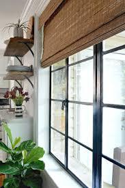 painted black window frames