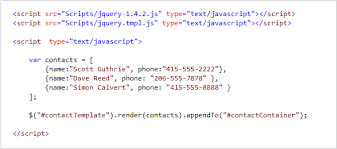 scottgu u0027s blog jquery templates and data linking and microsoft