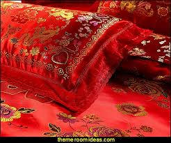 Chinese Silk Duvet Decorating Theme Bedrooms Maries Manor Oriental Theme Bedroom
