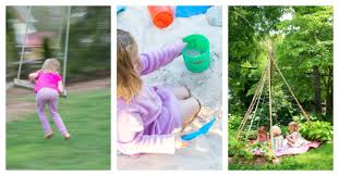 Backyard Set Kid Friendly Backyard How To Set One Up For Active Play