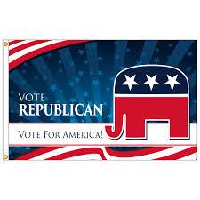 3ft x 5ft decorative flag republican