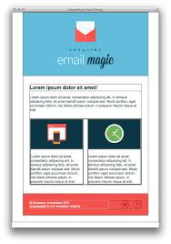 format html sed an html email template from scratch