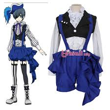 Black Butler Halloween Costumes Cheap Black Butler Cosplay Costumes Black Butler Cosplay
