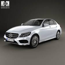 3d class price mercedes c class amg w205 sedan 2014 3d model from