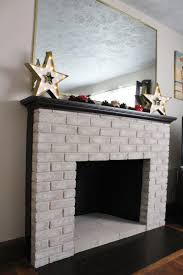 some options of contemporary brick fireplace makeover mantel