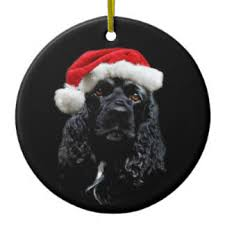 black cocker spaniel ornaments keepsake ornaments zazzle