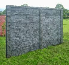 decorative garden fence panels and walls with organic