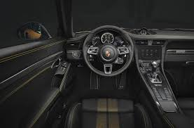 porsche concept interior 607 hp 2018 porsche 911 turbo s exclusive series revealed