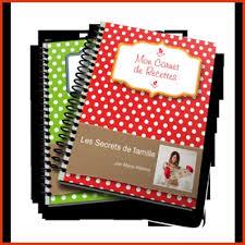 mon cahier de cuisine creer un cahier de recettes de cuisine 28 images creer un livre