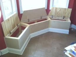 Window Bench Seat With Storage Love The This Idea Seating With Storage For Bay Window In Kitchen