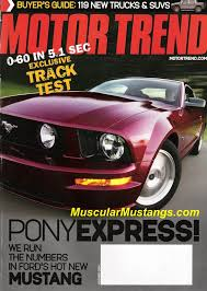 5 0 mustang magazine ford mustang on magazine covers