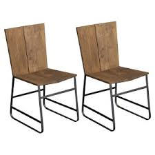 Industrial Dining Chair Distressed Industrial Style Kitchen And Dining Room Chairs
