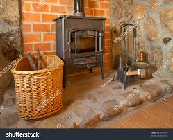 view cozy old fireplace living room stock photo 3474495 shutterstock