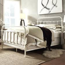 Shabby Chic Bed Frames Sale by Headboard Vintage White Iron Headboard Weathered Wood Headboard