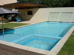 Swimming Pool Modern Ranch Pool Homes Pool Qarmazi To her