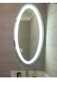 Oval Bathroom Mirrors Brushed Nickel Unique Oval Mirrors For Bathroom And Bathroom Mirrors Oval