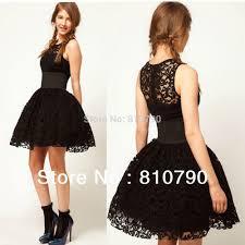 black cocktail dresses for weddings dress images